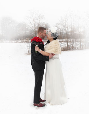 A beautiful snowy wedding day . Photographer PA, NJ, NY - Gosia & Steve Tudruj 215-837-6651 www.momentsinlifephoto.com  Specializing in wedding photography, event, portrait