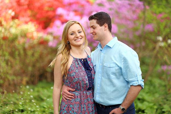 Spring !!!  Azalie !!! Engagement  photo session. Photographer Gosia & Steve Tudruj Servis Pa, NJ, NY 215-837-6651 www.momentsinlifephoto.com Specializing in wedding photography, event, portrait