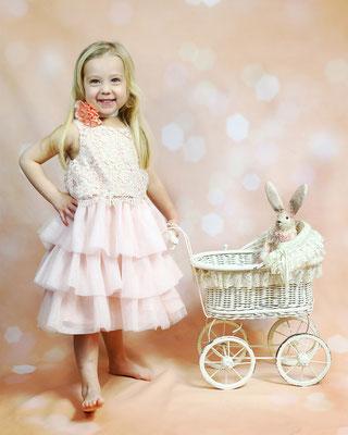 Happy Princess and Rabbit. EASTER mini sessions! Book now your spot. Photographer Gosia Tudruj 215-837-6651   Servis Pa and Bucks County PA. NJ. Studio -
