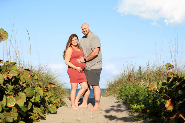 Pregnancy photo session. Ocean. Beach photo sessions.  If you are interested, please message me. Photographer Port St. Lucie Floryda. Gosia & Steve Tudruj 215-837-6651 www.momentsinlifephoto.com
