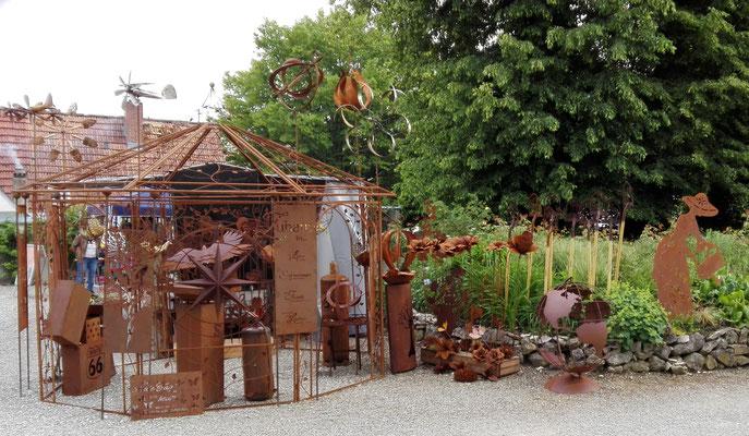 Edelrost Ausstellung Weißenhorn