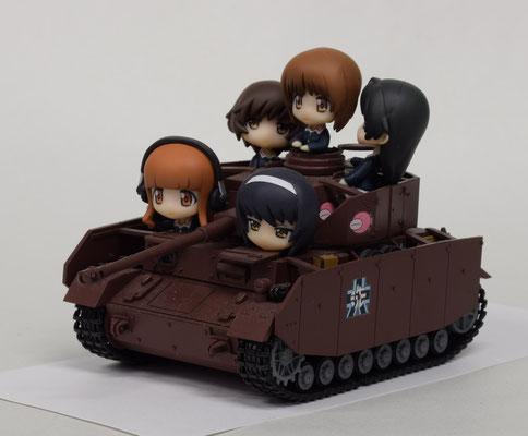 IV号戦車 with あんこうチーム
