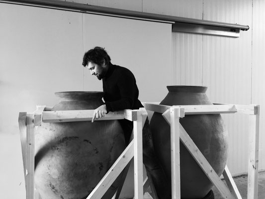 Johannes Zillinger and his amphoras....