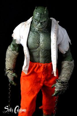 Killer Croc prisoner suit