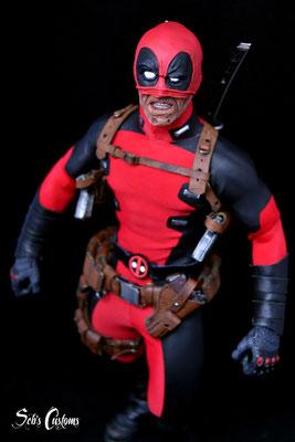 Deadpool Half Masked