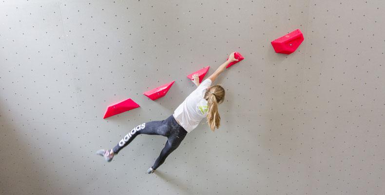 Girlpower in der Boulderhalle Salzburg