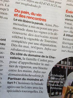maxi-presse-magazine-visite-vignoble-cave-Touraine-Tours-Vouvray-Amboise-sortie-originale-insolite-litterature-lecture