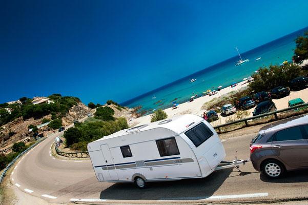 Configura la tua caravan