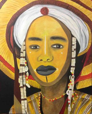 Äthiopien Wodaabe 80 cm x 100 cm   Preis a.A.
