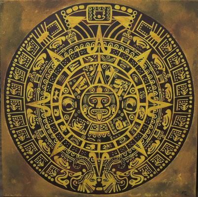 Aztekenkalender 90cm x 90cm   verkauft