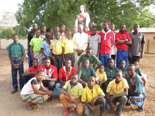 Scouts con il Vescovo