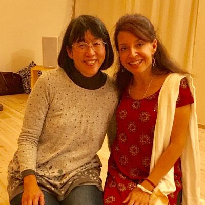 シルクドソレイユのメインボーカリストの経験もある伝説の歌姫ジーナ・サラさん。私の先生の先生です。