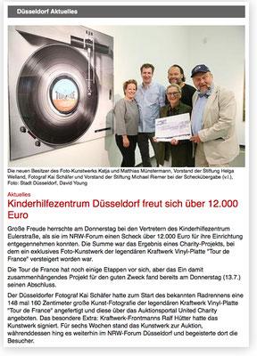 Kinderhilfezentrum freut sich über 12.000 Euro