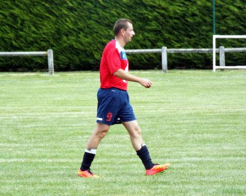 Cédric Serpette, auteur au tour précédent (tour de recadrage) contre Amiens Rif du but vainqueur sur pénalty pendant les prolongations a une nouvelle fois été efficace avec trois réalisations.