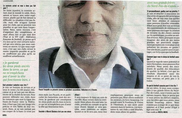 Article du Courrier Picard page 2 sport