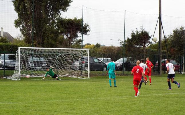 87ème : pénalty pour Cagny transformé. 3 - 2