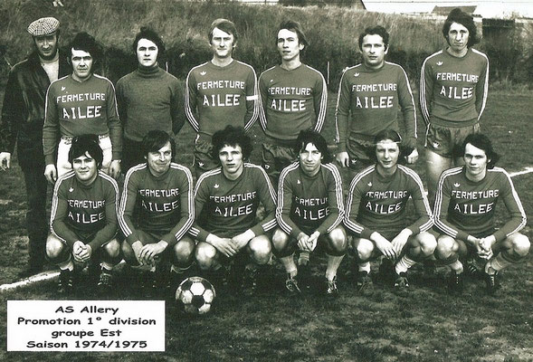 Equipe A saison 1974-1975