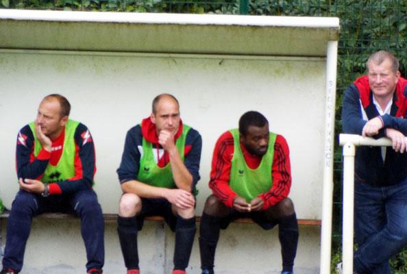 Sur le banc de touche : Guillaume Grévin, Mathias Broutin, Fresnel N'Souka