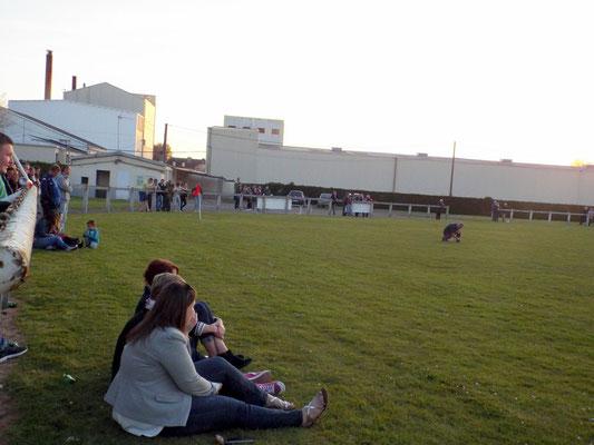 Plus de 100 spectateurs au stade; il y avait bien longtemps...