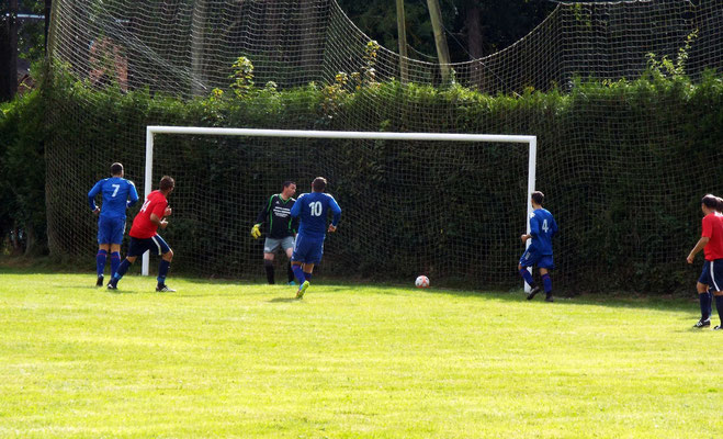89ème : centre de Bastien Cagny et reprise de David Dumeige. 0 - 9