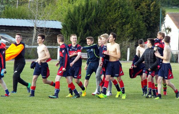 L'équipe prend la direction des demi-finales