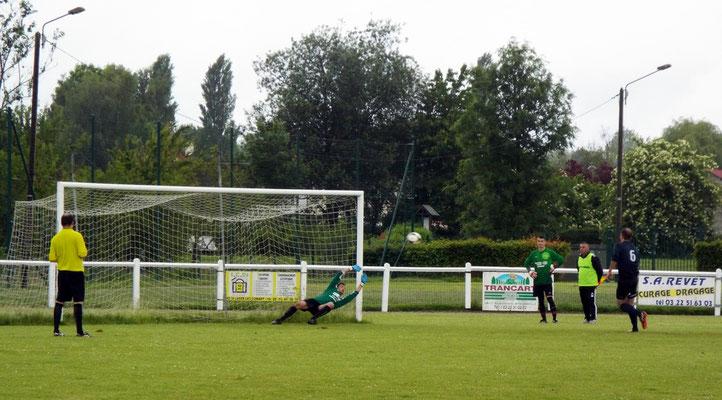 Tir au but d'Antoine Marque 1 - 1