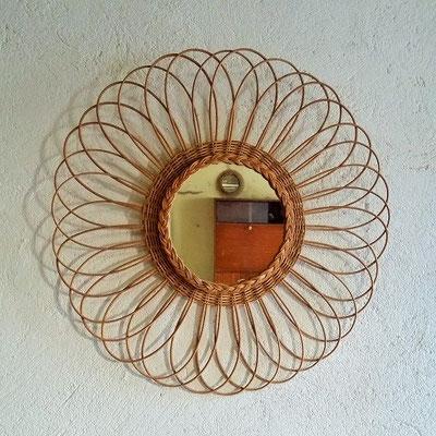 miroir-rotin-rfleur-vintage