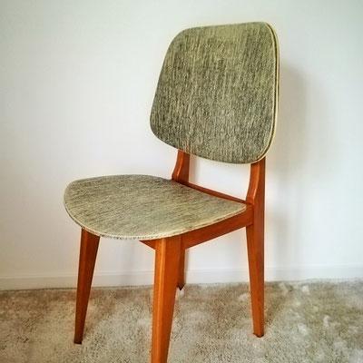 Chaise vintage des années 50