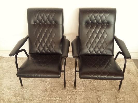 Paire de fauteuils Gastone Rinaldi pour RIMA