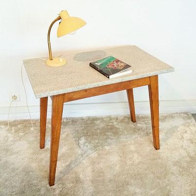 Petite table / bureau compas années 50
