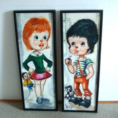 peintures couple poulbots