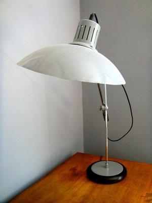 lampe d'atelier industrielle de bureau à balancier vintage