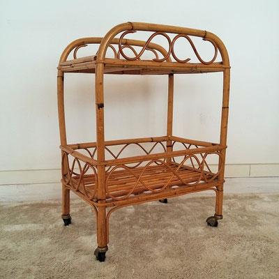 361 3 desserte bar rotin vintage muros design et. Black Bedroom Furniture Sets. Home Design Ideas