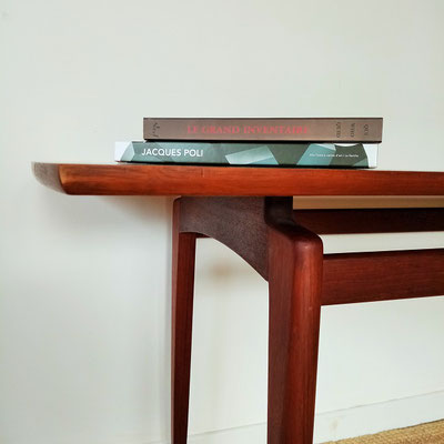 Table basse en teck Wilhelm Renz