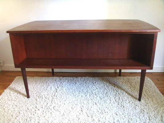 Grand bureau scandinave double face