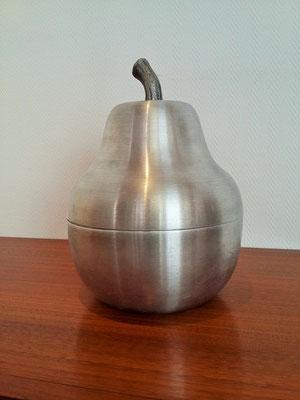 Poire à glaçon  aluminium vintage