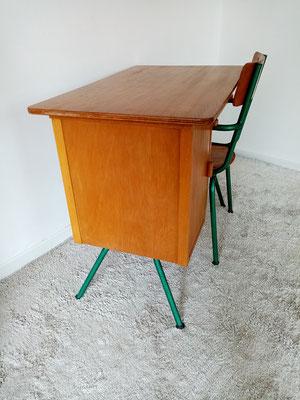 Bureau enfant compas vintage