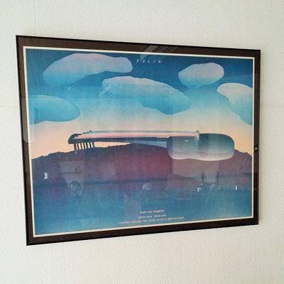 Affiche d'exposition Folon