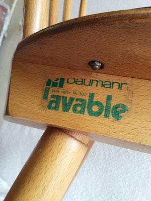 Chaises compas Baumann vintage