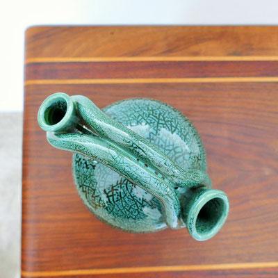 Vase ou pichet double col céramique Accolay
