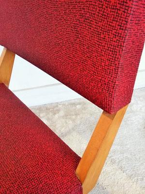 Série de 6 chaises années 50
