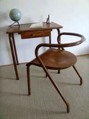 Ensemble maternelle bureau et chaise Mullca 300 Hitier