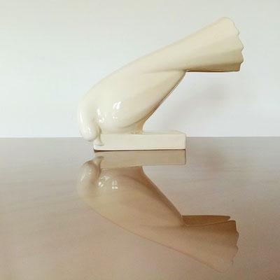 Céramique colombe pigeon Jacques Adnet
