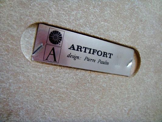 Pouf ou repose-pied Mushroom de Pierre Paulin pour Artifort