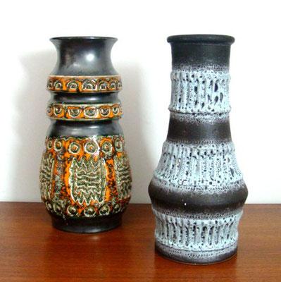 vases céramiques vintage