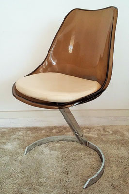 Chaise plexiglas Boris Tabacoff