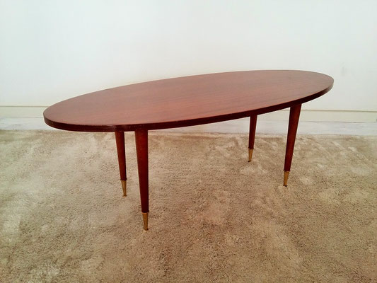 Table basse ovale vintage muros design et vintage en bourgogne - Table basse ovale vintage ...