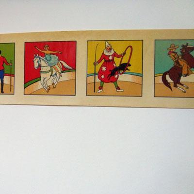 chromolythographie pour frises chambre d'enfant