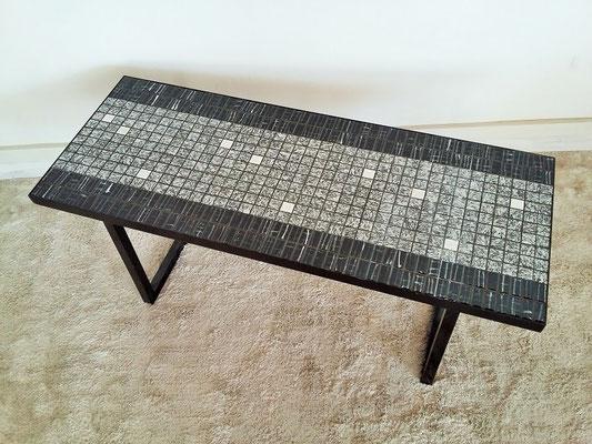Table basse céramique vintage années 50