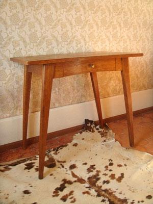 Petite table /bureau pieds compas
